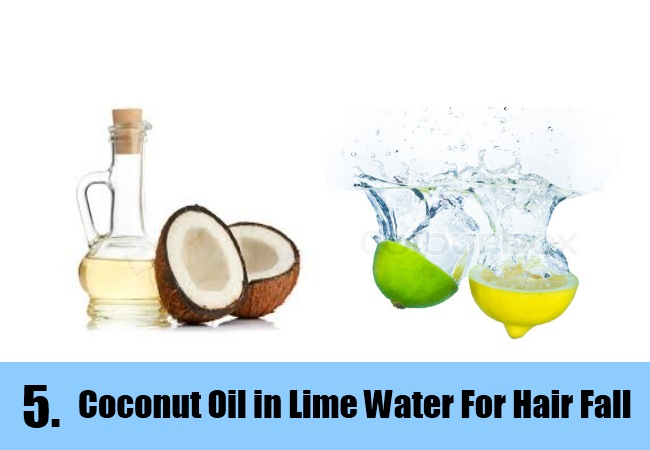 Coconut Oil in Lime Water