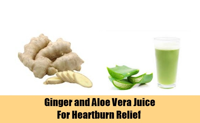 Ginger and Aloe Vera Juice
