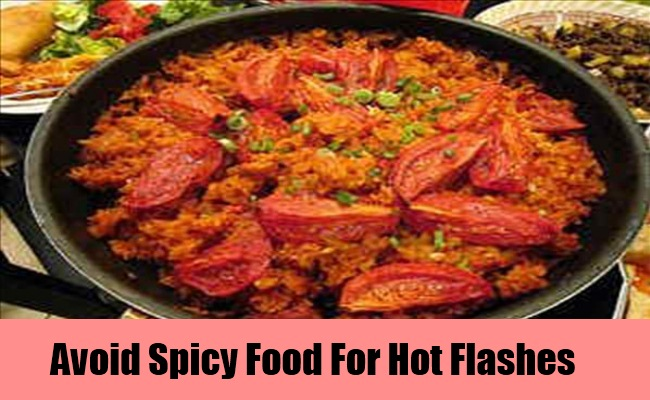 Stay Away from Spicy Food