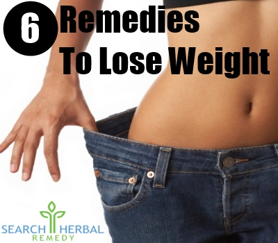 6 Remedies For Lose Weight