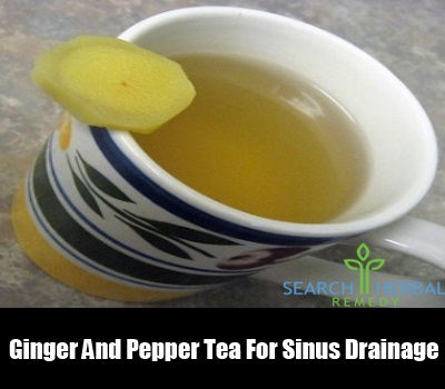 Ginger And Pepper Tea