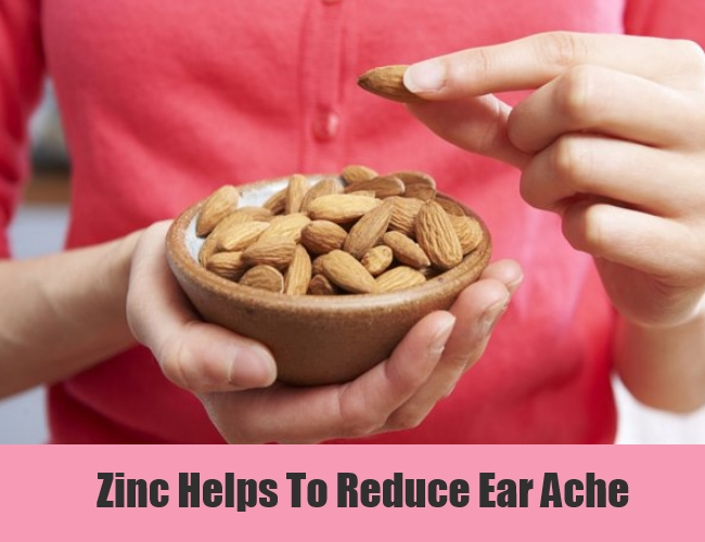 Zinc Helps To Reduce Ear Ache