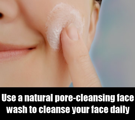 pore cleansing facial wash