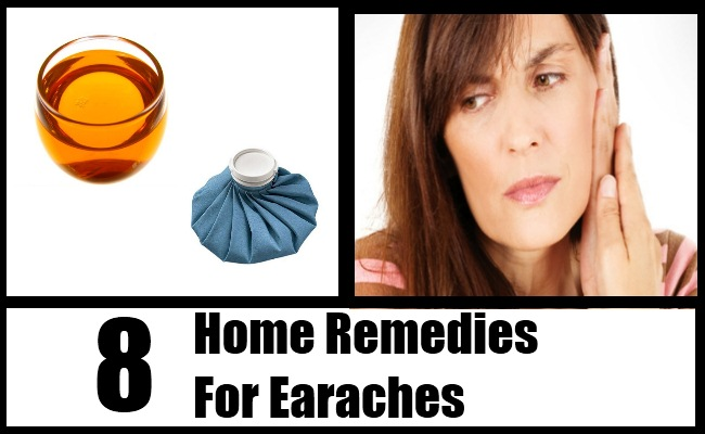 8 Home Remedies For Earaches Natural Remedy Treatments