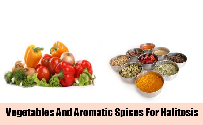 Fresh Vegetables And Aromatic Spices