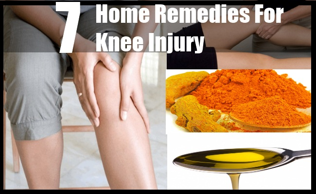 Home Remedies For Knee Injury