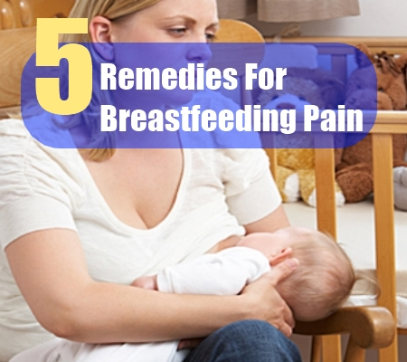 breastfeeding pain
