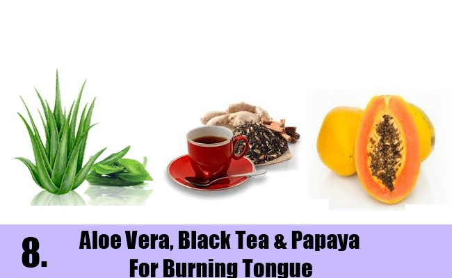 Aloe Vera, Black Tea & Papaya