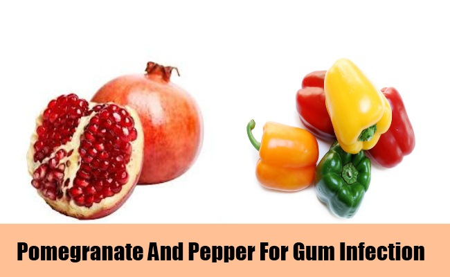 Use Pomegranate And Pepper Mixture