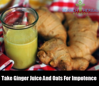Ginger Juice And Oats