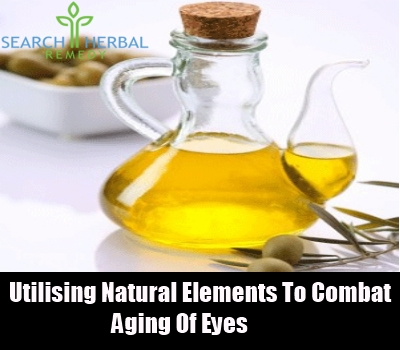 utilising natural elements to combat aging of eyes