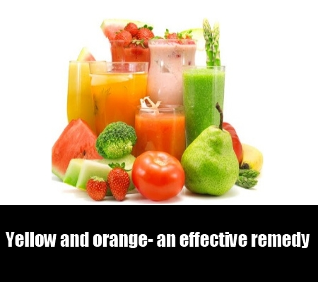yellow and orange- an effective remedy