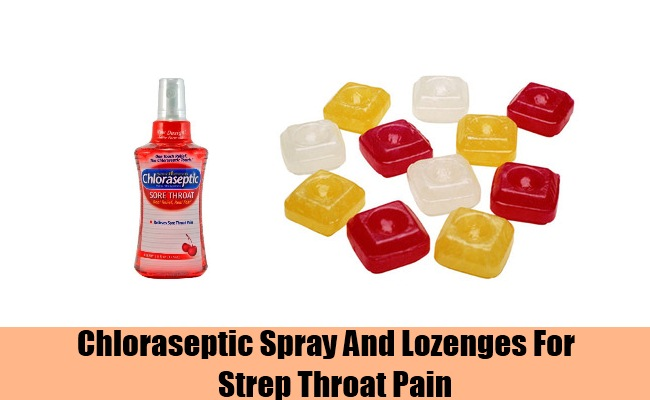 Chloraseptic Spray And Lozenges