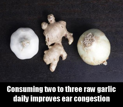 Garlic, Onion and Ginger