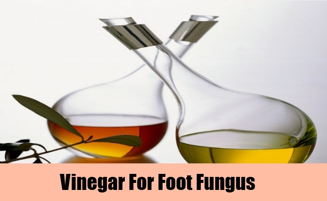 Use Of Vinegar To Treat Foot Fungus