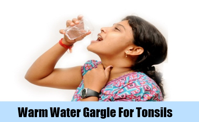 Warm Water Gargle