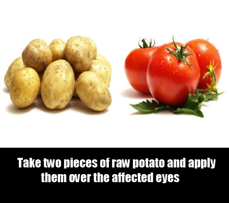 potato and tomato