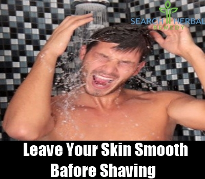 leave your skin smooth before shaving