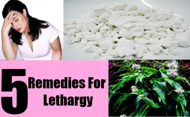 5 Remedies For Lethargy