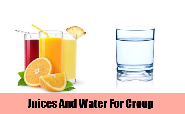 Juices And Water