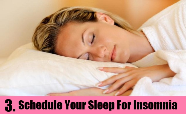 Schedule Your Sleep And Sleeping Habits