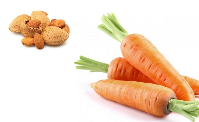 Almonds and Carrot
