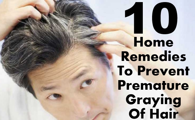 Prevent Premature Graying Of Hair