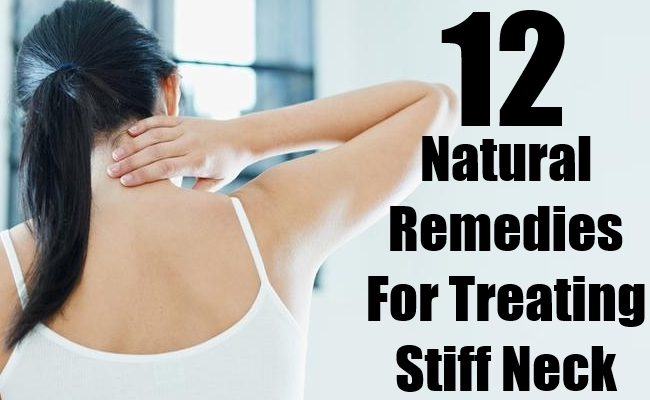 Remedies For Treating Stiff Neck