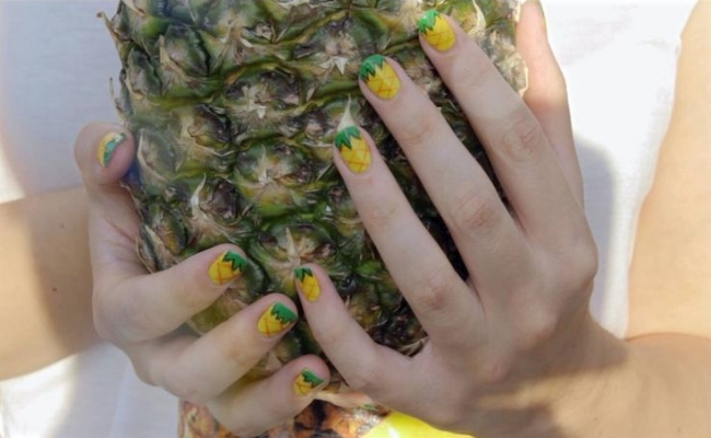 pineapple Good for nails and hair