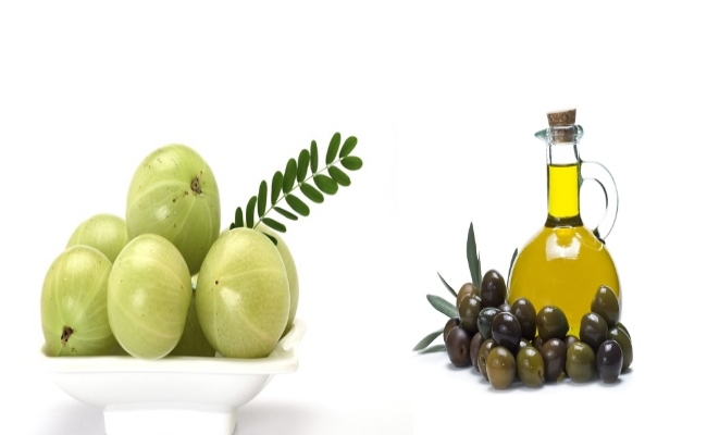 Amla And Olive Oil