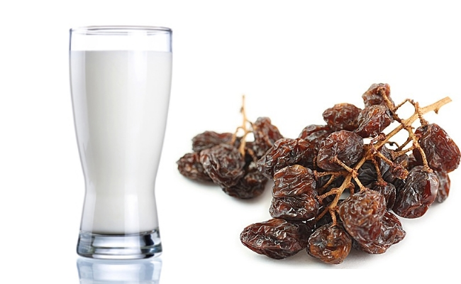 Milk And Raisins