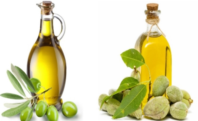 Olive Oil and Almond Oil