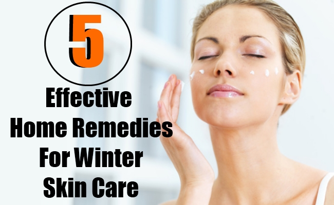 5 Effective Home Remedies For Winter Skin Care