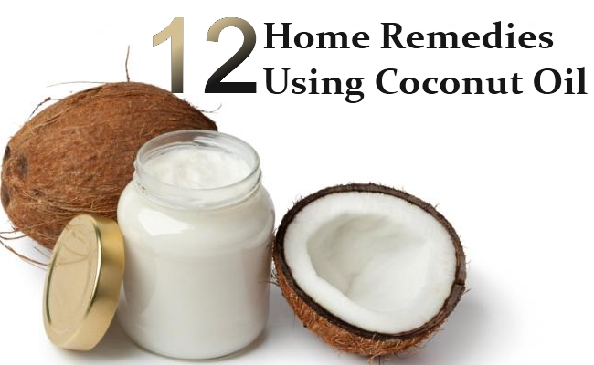 Home Remedies Using Coconut Oil