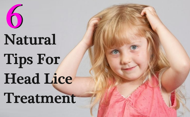 Natural Tips For Head Lice Treatment