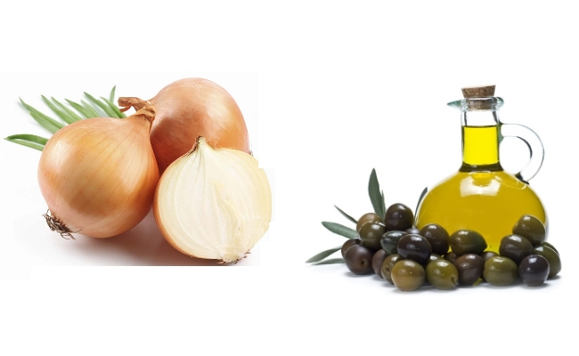 Onion And Olive Oil
