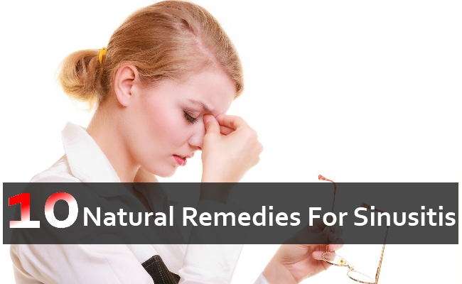 Natural Remedies For Sinus Infection Or Sinusitis