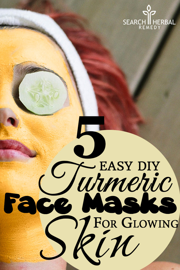 5 Easy DIY Turmeric Face Masks For Glowing Skin