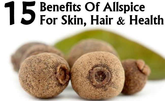 Benefits Of Allspice For Skin, Hair And Health