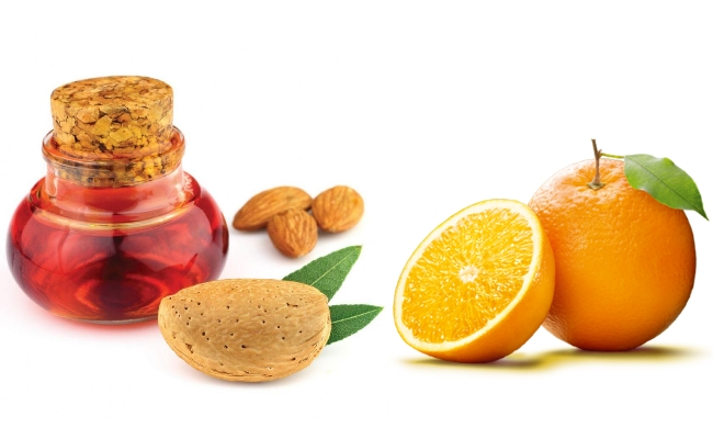 Orange And Almond Oil Hair Mask