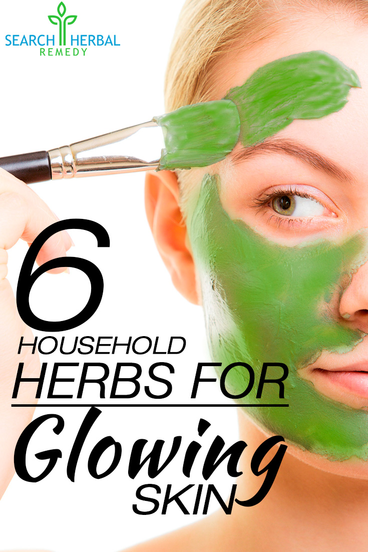 6 Household Herbs For Glowing Skin