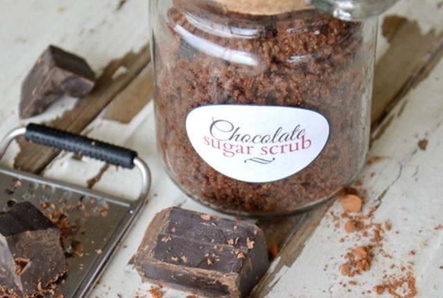 Chocolate And Sugar Scrub