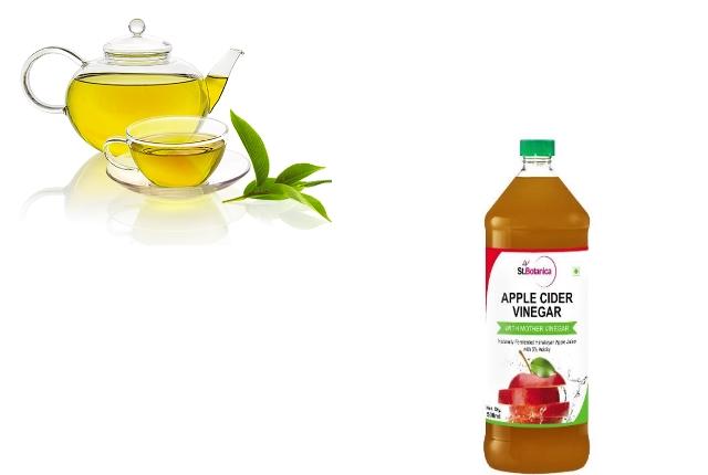 Green Tea and Apple Cider Vinegar