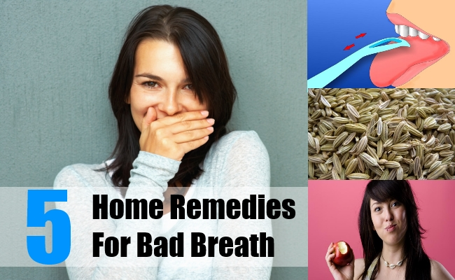 5 Home Remedies For Bad Breath