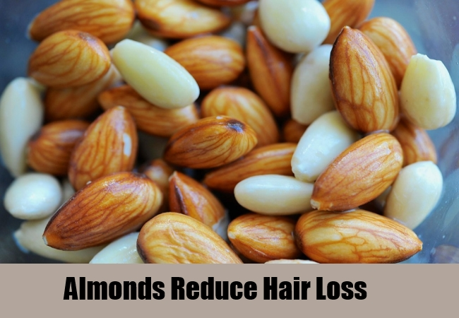 Almonds Reduce Hair Loss