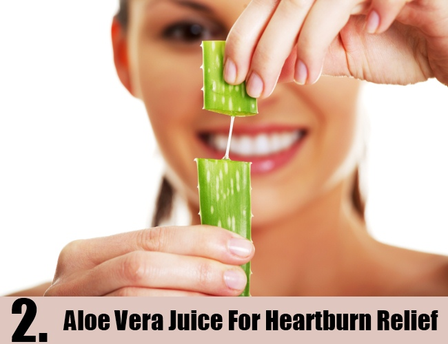 Aloe Vera Juice For Heartburn Relief