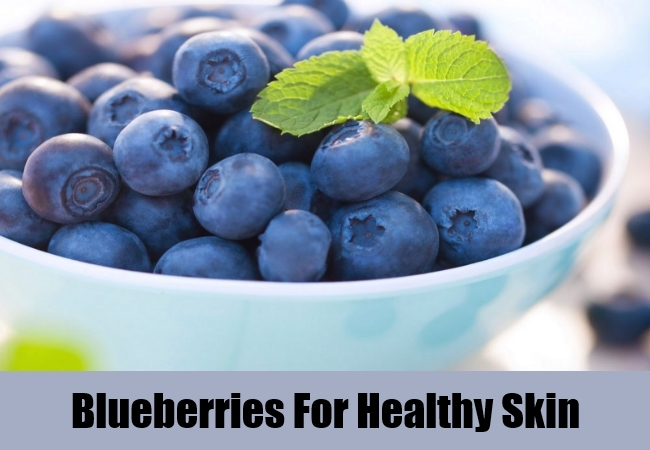 Blueberries For Healthy Skin