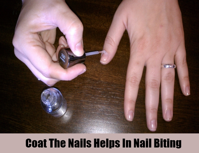 Coat The Nails Helps In Nail Biting