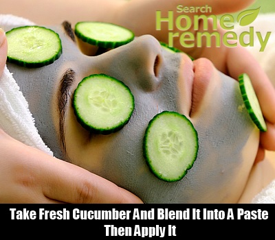 Cucumber Mask For Your Skin