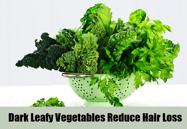 Dark Leafy Vegetables Reduce Hair Loss